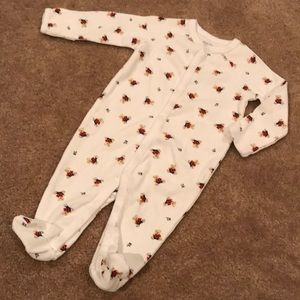 Ralph Lauren 3M teddy bear onsie